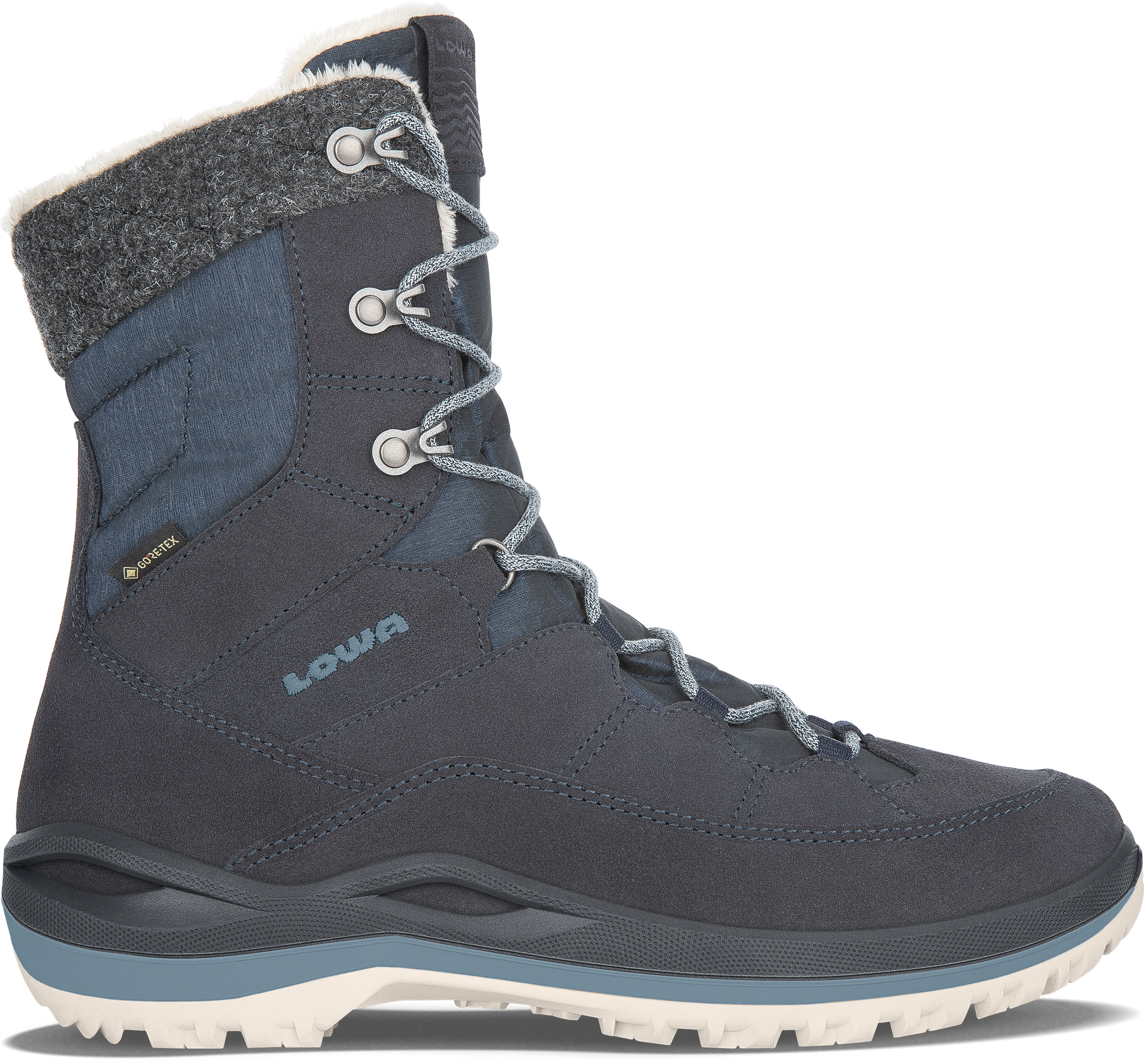 Girl/'s EU 31 Details about  /Lowa Calcetina GTX Mid Boots msrp $130 US 0.5